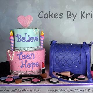 Jayde's 13th Birthday Cake