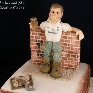 Bricklayer Football Supporter