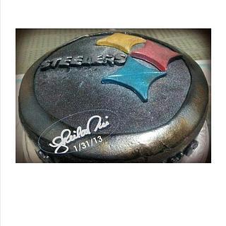 Steelers Cake & BMW cupcakes