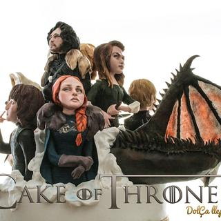 Cake of thrones Primavera de libro collaboration