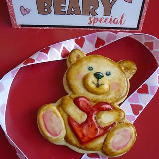 Valentine Teddybear Cookie