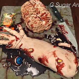 Gory Cake - Cake by G Sugar Art