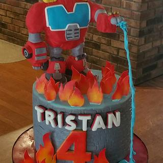 Heatwave Transformer  - Cake by BellaCakes & Confections
