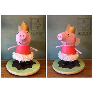 3D Peppa Pig the Fairy Princess Cake