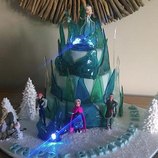 Love a Frozen cake I do - Cake by Cutabovecakes