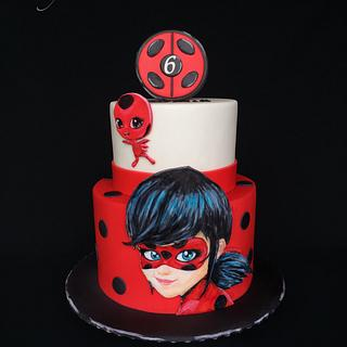 Miraculous: Tales of Ladybug & Cat Noir - Cake by Layla A
