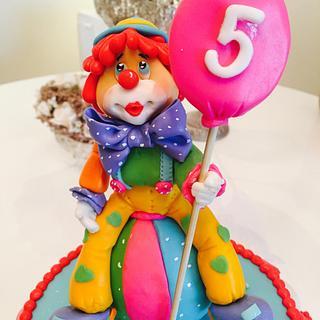 Clown - Cake by Malika