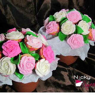 Mother's Day Cupcake Flowers