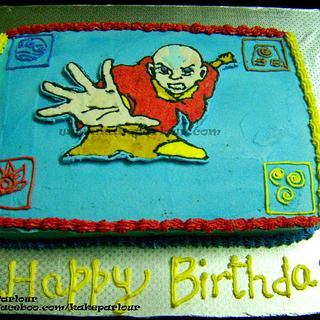 Avatar Aang Cake - Cake by tahiraimran