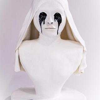 Americake Horror Story - White Nun Buste - Cake by Cake Pirate