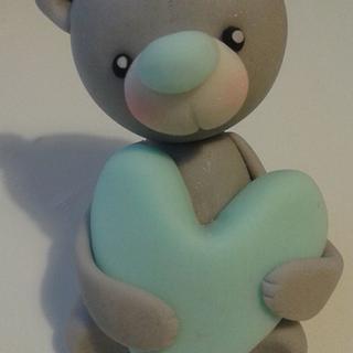 fondant teddybear