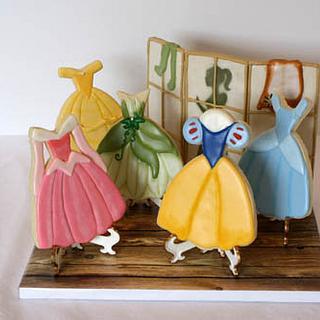 A Disney Princess Closet (Showpiece)