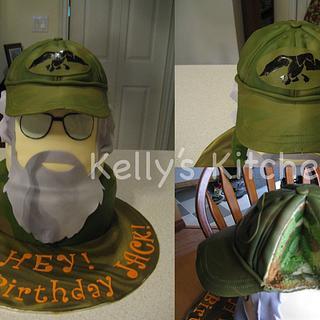 Duck Dynasty cake - Cake by Kelly Stevens