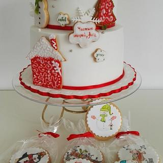 Christmas cake - Cake by Delyana