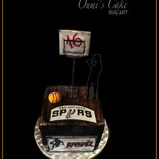 Basketball 🏀 Cake