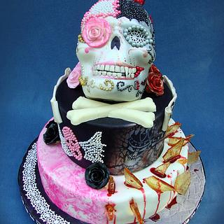 Dichotomy - Cake by Cakes ROCK!!!