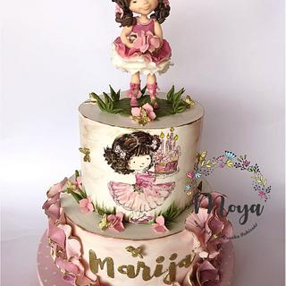 Little girl cake