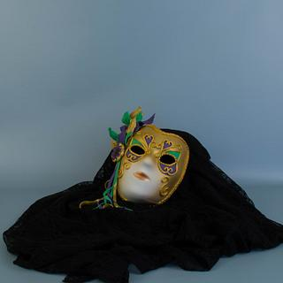Mardi Gras Mask - Carnival Cakers Collaborations