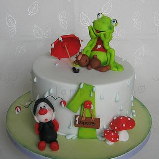 Little frog - Cake by lamps