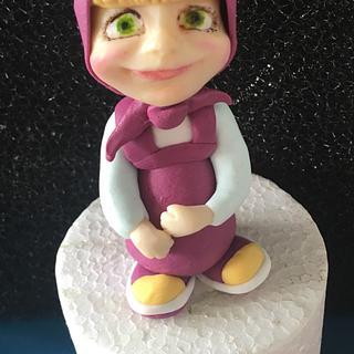 Masha cake topper
