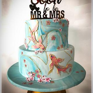 Soon to be Mr & Mrs - Cake by Homebaker