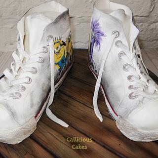 Minion Converse Shoes