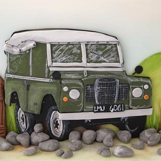 Land Rover Defender Cake