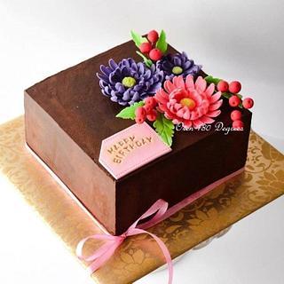 Naked Ganache Cake