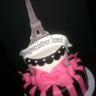 Going to Paris - Cake by Erica Floyd Bradley