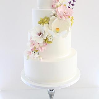Romantic wedding cake - Cake by Dolce Dita