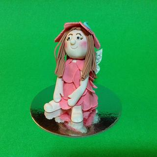 Figurine fairy -first try