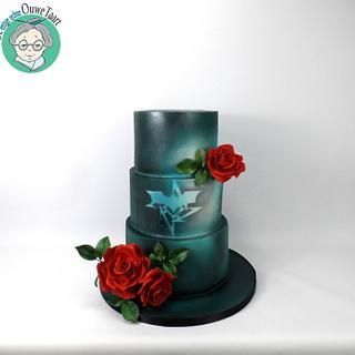 Kinky wedding cake