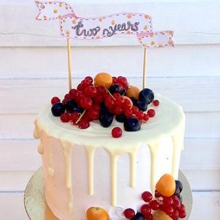 Anniversary cake - Cake by Loreta