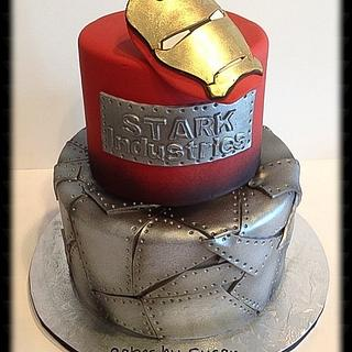 Ironman grooms cake