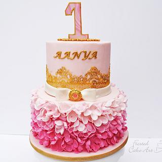 Pretty Elegant Cake - Cake by Seema Acharya