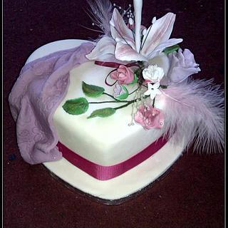 Floral Fancy - Cake by fiestykax
