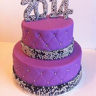 New Year' cake - Cake by Andie Gélinas