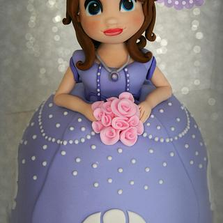 """""""First"""" Doll Cake"""