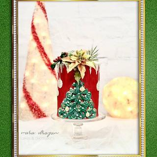 Christmas cake - CPC Collab. - Cake by Mara Dragan - cakes&decorations