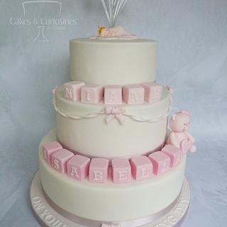 Niamh's Christening cake