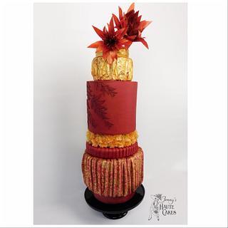 ACD L'Amour Fashion J. Mendel Cake - Cake by Jenny Kennedy Jenny's Haute Cakes