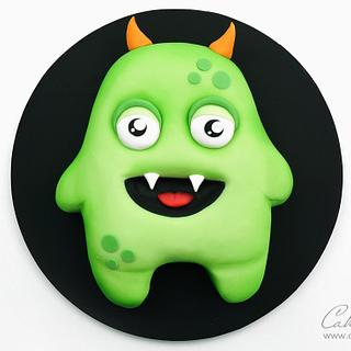 Halloween Monster Cake