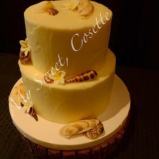 Beach Cake - Cake by Cosette