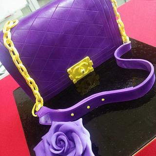 "3Dcake luxury handbag ""chanel bag"""