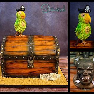 Ahoy Me Pirate Parrot!
