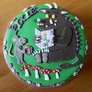 The Gruffalo - Cake by sas