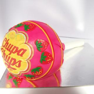 Giant Chupa Chups Lollipop