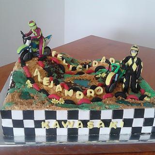CAKE CIRCUIT MOTO