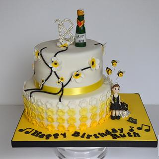 Wasps 18th cake