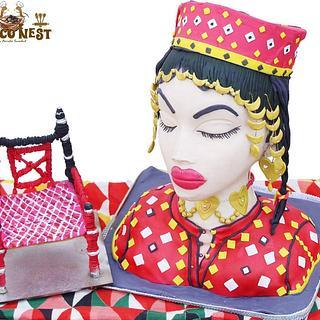 Baloch culture  - Cake by Ashisumbul